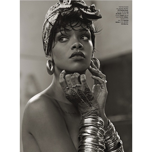 Rihanna 'Vogue Brazil' Photoshoot (Pics & Behind The