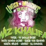 Wiz Khalifa Announces 'Under The Influence Of Music Tour' w/ Tyga, Ty Dolla $ign, Mack Wilds & More