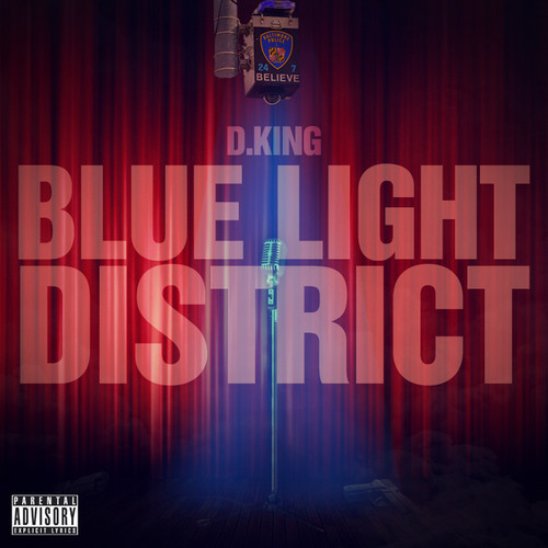 d. king blue light district