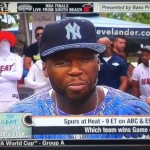 50 Cent & Trey Songz On ESPN First Take