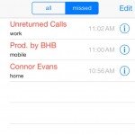 connor evans unreturned calls 150x150