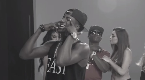 k camp - behind the scenes cut her off remix
