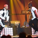 usher chris brown iheart