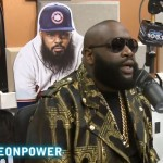 Angie Martinez Interviews Rick Ross; Reveals Title of New Jay Z Collab