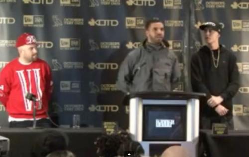 drake press conference