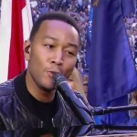John Legend Sings 'America The Beautiful' At Super Bowl XLIX
