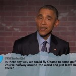President Obama Talks Ferguson, Tweeting, Kanye, Aliens & More on Jimmy Kimmel Live