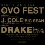 Drake Announces 2015 OVO Fest Lineup