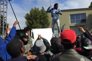 On The Sets: Kendrick Lamar Shoots 'Alright' Music Video