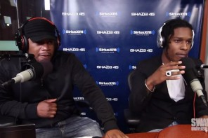 A$AP Rocky Freestyle On Sway In The Morning Show (Sends Message To 50 Cent)