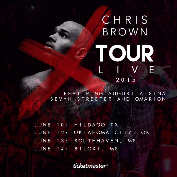 Omarion Chris Brown Tour Dates
