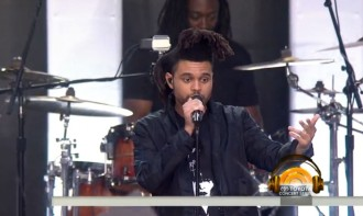 weeknd today show