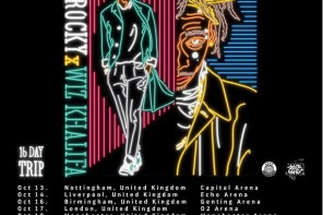 A$AP Rocky & Wiz Khalifa Announce Joint Europe Tour