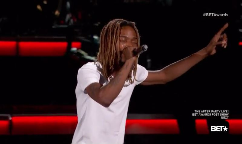 Fetty Wap Performs 'Trap Queen' At 2015 BET Awards | HipHop