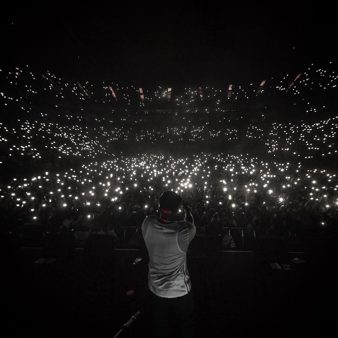 Arena Strobe Lights: G-Unit At The O2 Arena: Concert Review & Recap