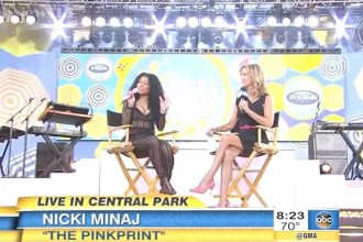 nicki minaj gma