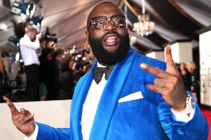 LOS ANGELES, CA - FEBRUARY 08:  Rapper Rick Ross attends The 57th Annual GRAMMY Awards at the STAPLES Center on February 8, 2015 in Los Angeles, California.  (Photo by Christopher Polk/WireImage)