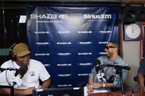 Ryan Leslie '5 Fingers of Death' Freestyle on Sway In The Morning Show