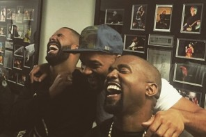 Drake, Kanye & Will Smith Laugh At Meek Mill Memes Backstage At OVO Fest 2015 (Video)