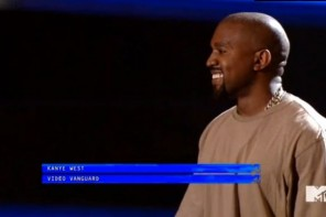 Kanye West Receives Video Vanguard Award At 2015 MTV VMAs (Full Video)