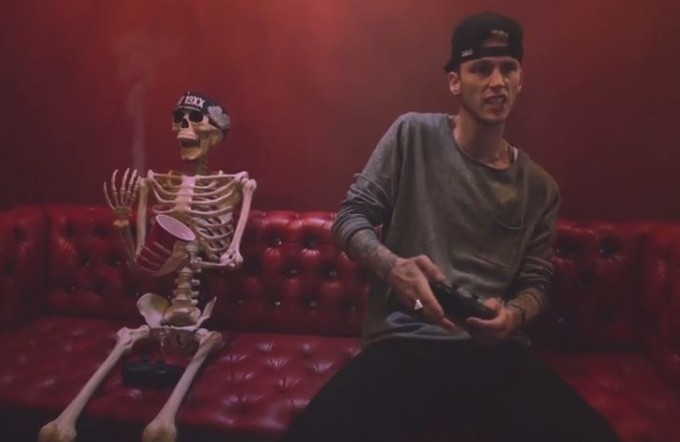 mgk almost video