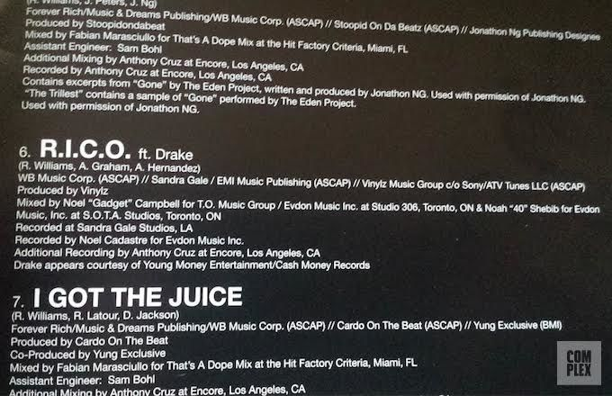 Quentin Miller Not Credited As A Writer On R I C O