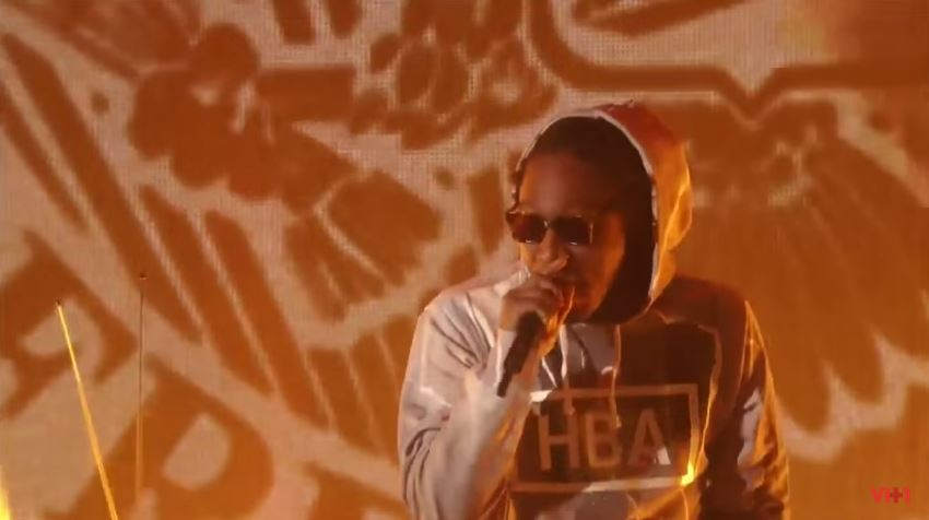 Future Performs 'March Madness' At 2015 Streamy Awards