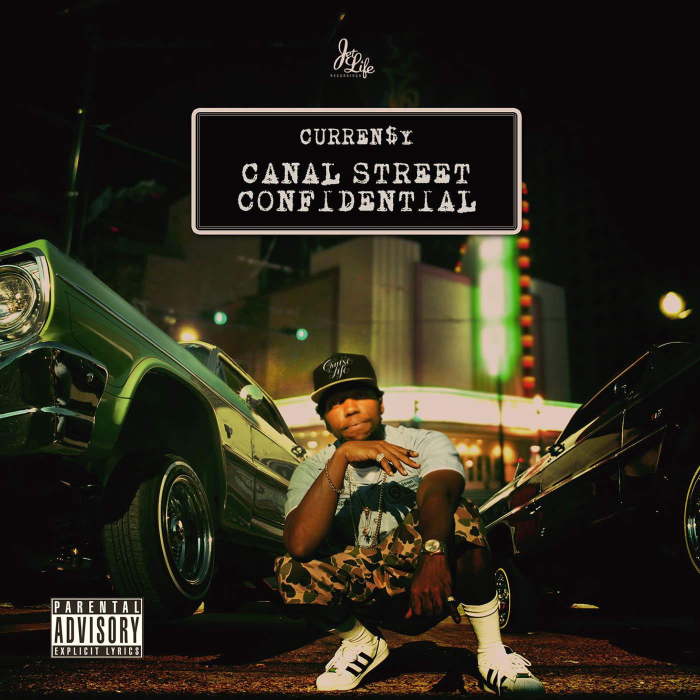 Resultado de imagen para Curren$y - Canal Street Confidential (Deluxe Edition)