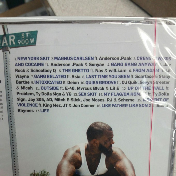 The Game Albums List