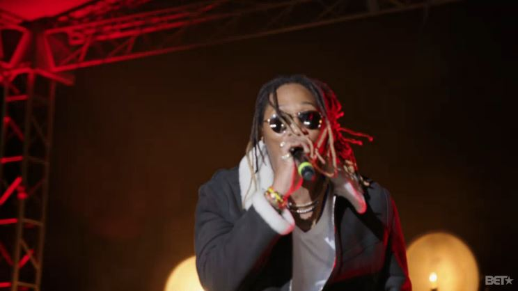Future Performs 'Where Ya At' & 'March Madness' At 2015 BET