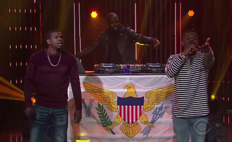R  City Perform 'Locked Away' on The Late Late Show w/ James