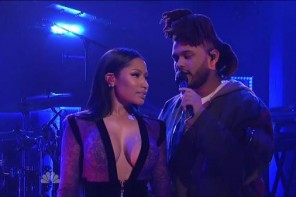 weeknd nicki snl