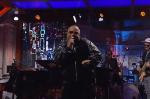 ceelo green performs working class work on the late show