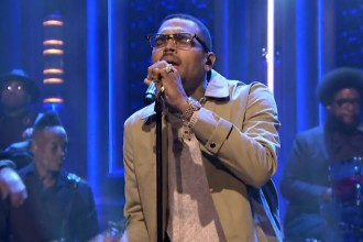 chris brown jimmy fallon live