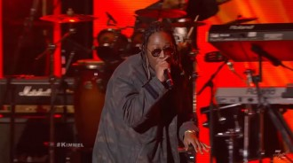 future performs blow a bag were ya at jimmy kimmel live