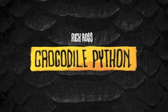 rick ross crocodile python