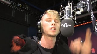mgk fire in the booth