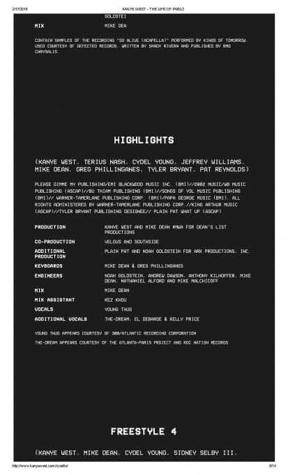 KANYE WEST - THE LIFE OF PABLO-page-005