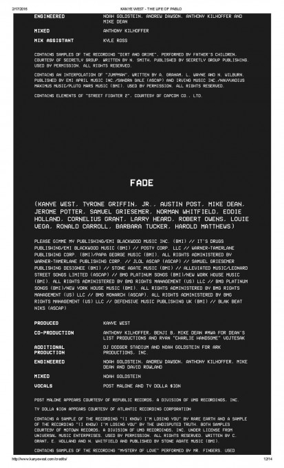 KANYE WEST - THE LIFE OF PABLO-page-012