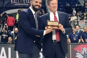 Drake Receives Key To Toronto (Video)