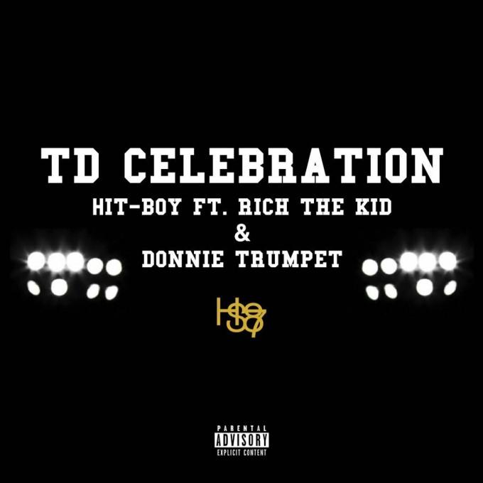 hit boy td celebration