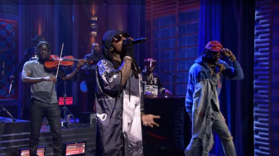 Collegrove (Lil Wayne & 2 Chainz) Debut New Song 'Rolls