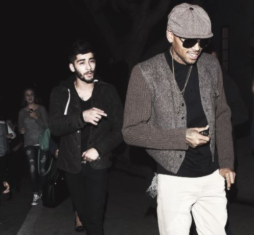 zayn chris brown
