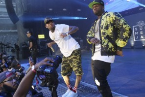 Chris Brown Announces 'The Party Tour' with 50 Cent, Fabolous, French Montana