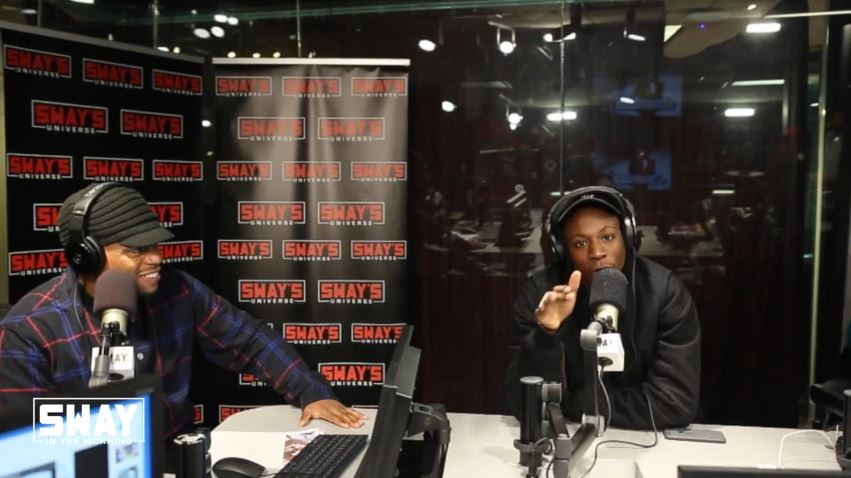 Joey Bada$$ 5 Fingers of Death Sway Freestyle (Takes Shots)
