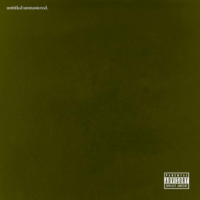 kendrick lamar untitled unmastered cover art