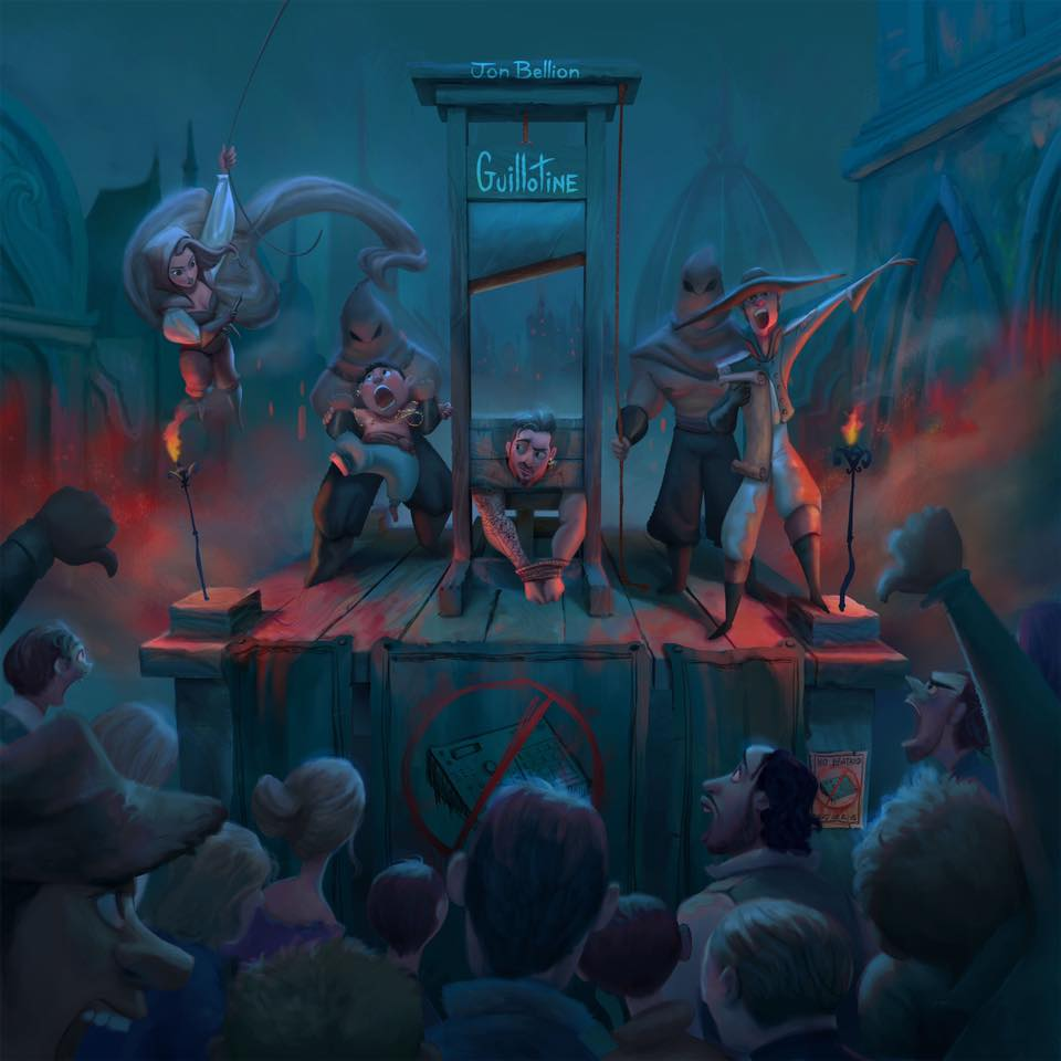 New Music: Jon Bellion – 'Guillotine' (Feat. Travis Mendes ...