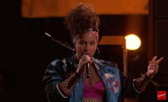 alicia keys the voice