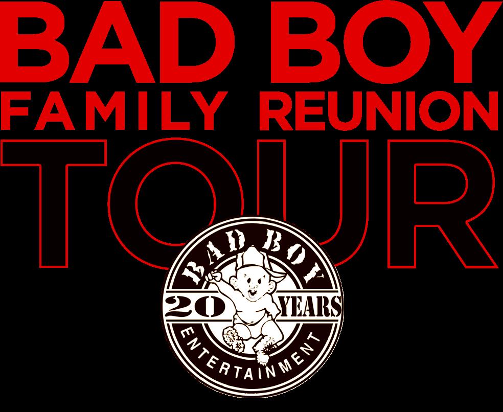 puff daddy announces full bad boy family reunion tour Rad Movie Family Reunion Logos