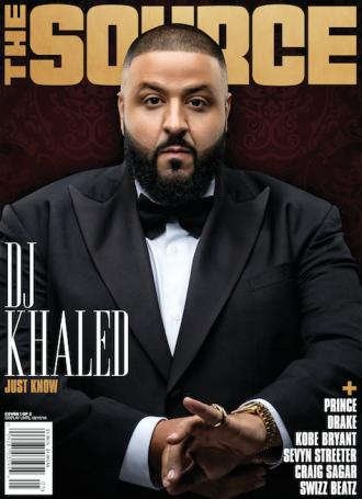 dj khaled covers the source